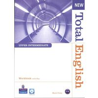 Książki do nauki języka, New Total English Upper-Intermediate Workbook With Cd (opr. miękka)