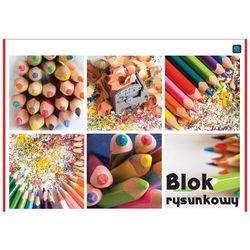 BLOK RYSUNKOWY A4 /INTERDRUK/ + zakładka do książki GRATIS