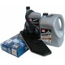 Filtr oraz olej Dextron-VI automatycznej skrzyni biegów A4LD Ford Ranger 4x4