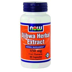 Ojibwa herbal extract 450mg 90 kapsułek NOW FOODS