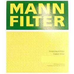 Filtr, wentylacja przestrzeni pasażerskiej MANN-FILTER CU 2143