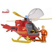 Helikoptery dla dzieci, Simba HELIKOPTER RATUNKOWY Strażak Sam z dźwiękiem i światłem