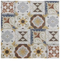 GRES CEMENT GRYS PATCHWORK 60×60 GAT II