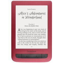 Czytnik E-Booków POCKETBOOK Touch Lux 3 Czerwony