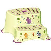 Podesty dla dzieci, OKT Podest dwustopniowy Hippo, zielony - BEZPŁATNY ODBIÓR: WROCŁAW!