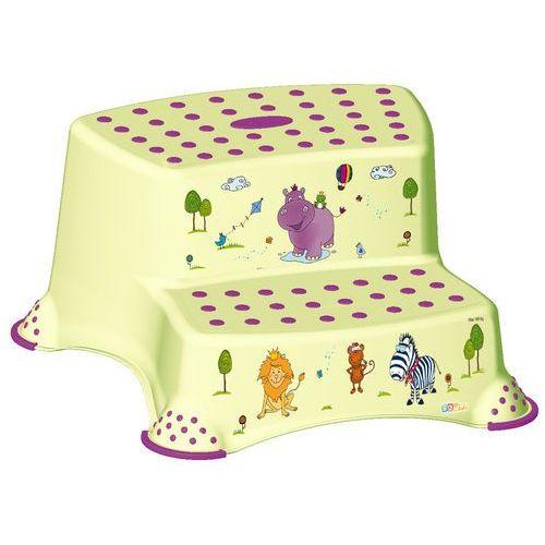 Podesty dla dzieci, keeeper Podest dwustopniowy Hippo, zielony - BEZPŁATNY ODBIÓR: WROCŁAW!