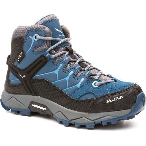 Obuwie sportowe dla dzieci, Salewa ALP TRAINER MID GTX Buty trekkingowe dark denim/charcoal
