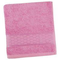 Ręczniki, Bellatex Ręcznik kąpielowy Kamilka Pasek różowy, 70 x 140 cm, 70 x 140 cm