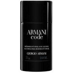 Giorgio Armani Code Pour Homme 75ml dezodorant sztyft [M] UNBOX
