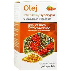 Olej rokitnikowy syberyjski 90 kapsułek Pro Aktiv