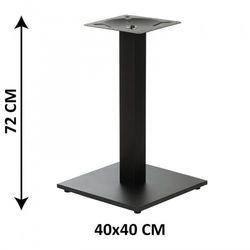 Podstawa stolika SH-2011-1/60/B, 40x40 cm (stelaż stolika), kolor czarny