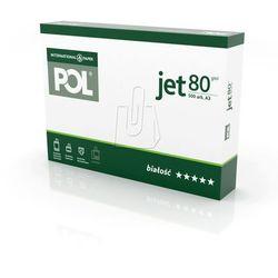 Papier International Paper POL Jet, A3/80g (3050021011) Darmowy odbiór w 21 miastach!