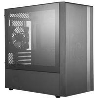 Obudowy do komputerów, Cooler Master MasterBox NR400 - Obudowa komputerowa - Miditower - Czarny