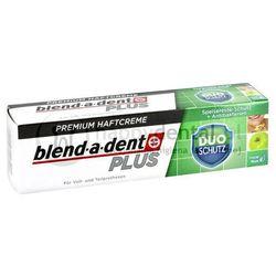 BLEND-A-DENT PLUS Duo Schutz (podwójna ochrona) 40g - klej do protez o właściwościach antybakteryjnych (zielony)