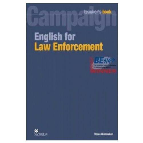 Książki do nauki języka, Campaign English for Law Enforcement Teacher's Book (książka nauczyciela) (opr. miękka)