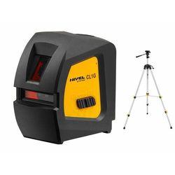 Laser krzyżowy Nivel System CL1G poziomica + Statyw SJJ-M1 EX
