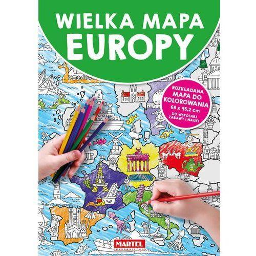 Książki dla dzieci, Mapa Europy - Praca zbiorowa (opr. broszurowa)