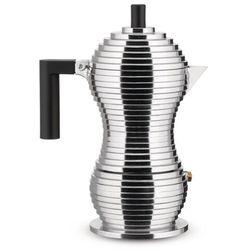 Zaparzacz do espresso Pulcina z czarnym uchwytem 300 ml