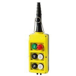 Kaseta sterownicza, start, grzybek, 4 przyciski podwójnej prędkości PLB06D4