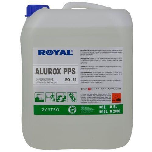 Płyny do czyszczenia podłóg, Płyn do mycia i dezynfekcji podłóg i ścian Alurox PPS 5 l Środki czystości dla przemysłu spożywczego