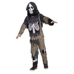 Kościotrup Zombie 7-9 lat, kostium/ przebranie dla dzieci, odgrywanie ról, Halloween