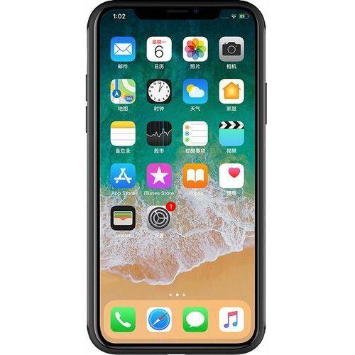 Ładowarki do telefonów, Nillkin Fancy Gift Set - zestaw podarunkowy etui + bezprzewodowa ładowarka Qi 10W + kabel 3w1 (USB - micro USB/Lightning/USB-C) iPhone X czarny