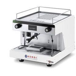 Ekspres do kawy kolbowy HENDI Top Line by Wega 1-grupowy biały HENDI 208915
