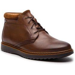 Trzewiki CLARKS - Un Geo Mid Gtx GORE-TEX 261367747 Brown Leather