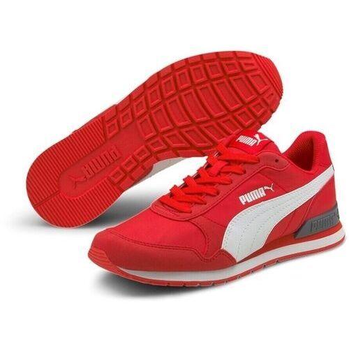 Damskie obuwie sportowe, BUTY MŁODZIEŻOWE ST RUNNER CZERWONE