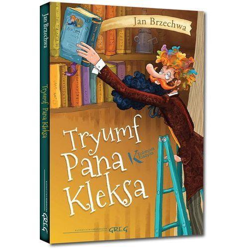 Książki dla dzieci, Tryumf Pana Kleksa - Jan Brzechwa OD 24,99zł DARMOWA DOSTAWA KIOSK RUCHU (opr. miękka)
