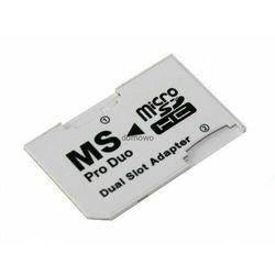 ADAPTER DUAL do kart MICRO SD / MS PRO DUO