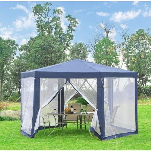 Namioty ogrodowe, Pawilon ogrodowy 3,9 x 3,9 z moskitiera HIT KOLORY