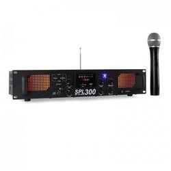 Skytec SPL300VHF wzmacniacz PA USB SD MP3 300W
