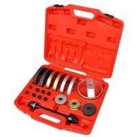 Zestawy narzędzi ręcznych, vidaXL 19 elementowy zestaw narzędzi do łożysk piast 62 mm, 66 72 mm Darmowa wysyłka i zwroty