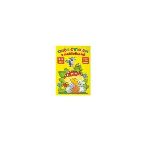 Książki dla dzieci, Zbiór Ćwiczeń Z Naklejkami 3-5 Lat (opr. broszurowa)