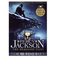 Książki do nauki języka, Percy Jackson The Demigod Files Film tie-in (opr. miękka)