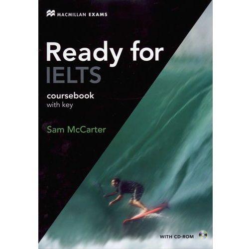 Książki do nauki języka, Ready For IELTS Książka Ucznia z Kluczem Plus CD-ROM (opr. miękka)