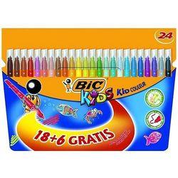 Flamastry BiC Kids Kid Couleur 18+6 kolorów