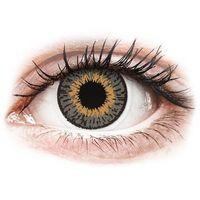 Soczewki kontaktowe, Expressions Colors Grey - korekcyjne (1 soczewka)