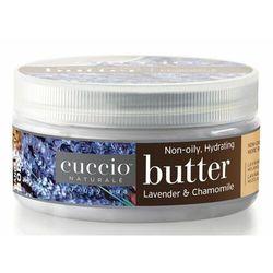 Cuccio LAVENDER & CHAMOMILE BUTTER Nawilżające masło do dłoni, stóp i ciała (lawenda i rumianek)