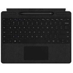 Microsoft etui ochronne na tablet Surface Pro X Keyboard + Pen Bundle (Black), ENG QSW-00007