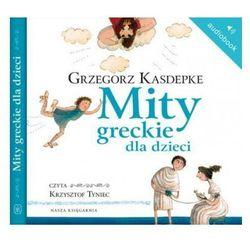 Mity greckie dla dzieci (audiobook CD)