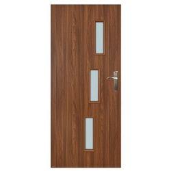 Drzwi pokojowe Everhouse Roma 80 lewe akacja