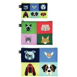 Saszetki Zip Pockets 3 szt. Stephen Cheetham Cats & Dogs