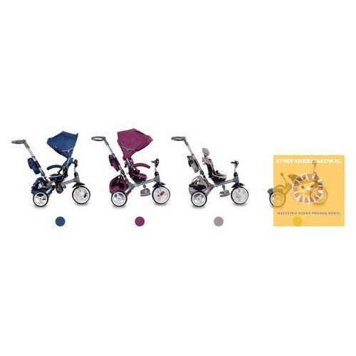 Rowerki trójkołowe, Trójkołowiec Little Tiger beżowy Sun Baby J01.007.1.4