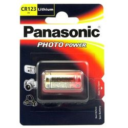 Bateria PANASONIC CR123A (Blister 1szt.)