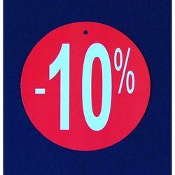 Komplet (100szt.) metek,,-10%'' do metkownicy igłowej