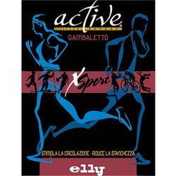 Podkolanówki sportowe kompresyjne medyczne z tlenkiem miedzi ACTIVE EFFECT SPORT - UNISEX (ucisk I klasy 21mmHg) - ANTISTRESS - kolor czarny