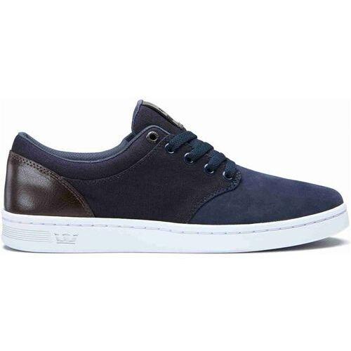 Męskie obuwie sportowe, buty SUPRA - Chino Court Navy/Demitasse-White (449) rozmiar: 37.5