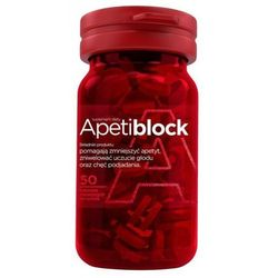 Apetiblock 50 tabletek musujące do ssania